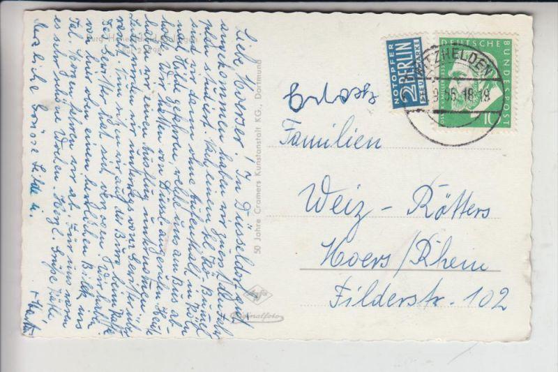 5650 SOLINGEN - HÖHSCHEID, Burg Höhscheid 1955 1