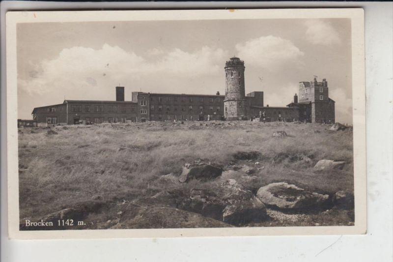 0-3706 WERNIGERODE SCHIERKE, Brocken, 1932 0