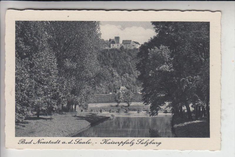 8740 BAD NEUSTADT / Saale, Kaiserpfalz Salzburg, 1940 0