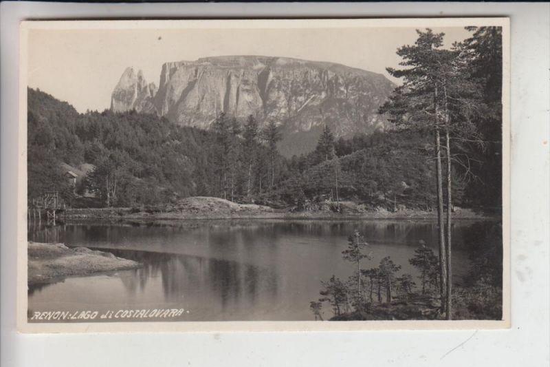I 39054 RITTEN, Lago di Costalovara, 1931 0