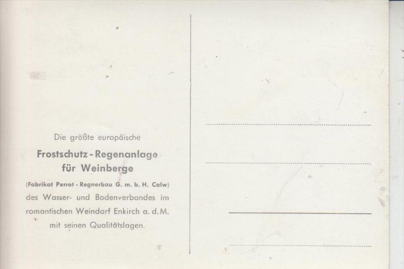 5585 ENKIRCH, Größte europ. Frostschutz-Regenanlage für Weinberge, Perrot-Regnerbau Calw 1