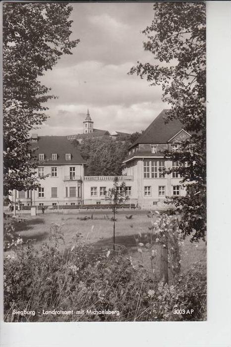 5200 SIEGBURG, Landratsamt mit Michaelsberg 0