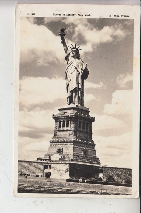 USA - NEW YORK - Statue of Liberty, Freiheitsstatue, 1940 0