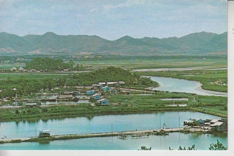 CHINA - HONGKONG, Lukmachow - The Shumchun River