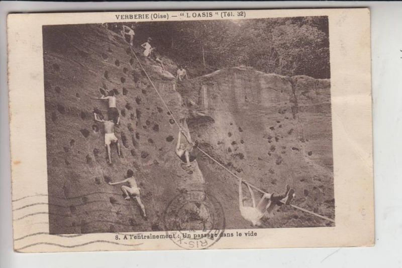 SPORT - BERGSTEIGEN - Jugendlager Verberie / Frankreich 1934