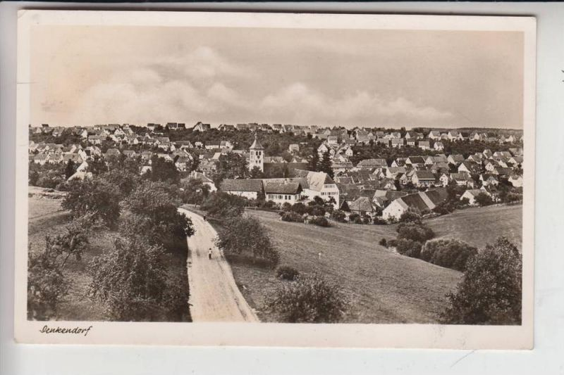 7306 DENKENDORF, Ortsansicht 1952