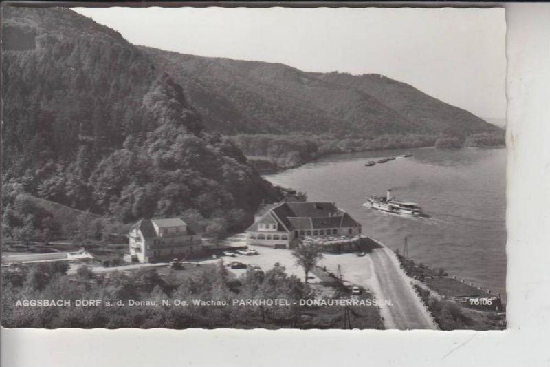 A 3641 AGGSBACH, Parkhotel Donauterrassen 1964