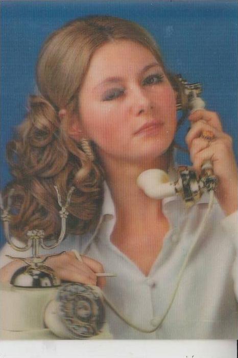 MATERIAL - 3D - Blumen - TELEFON