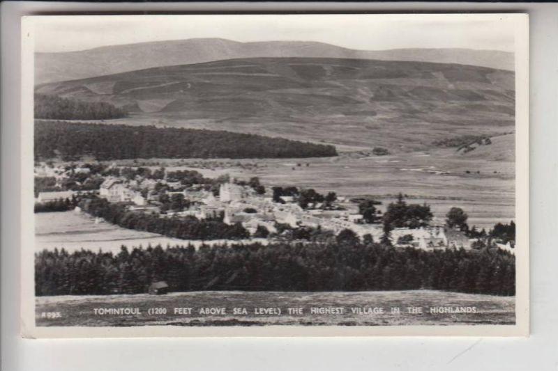 UK - SCOTLAND - BANFFSHIRE - TOMINTOUL 1962