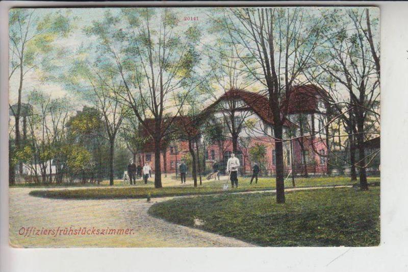 MILITÄR - Truppenübungsplatz Griesheim bei Darmstadt,1921, Offiziersfrühstückzimmer