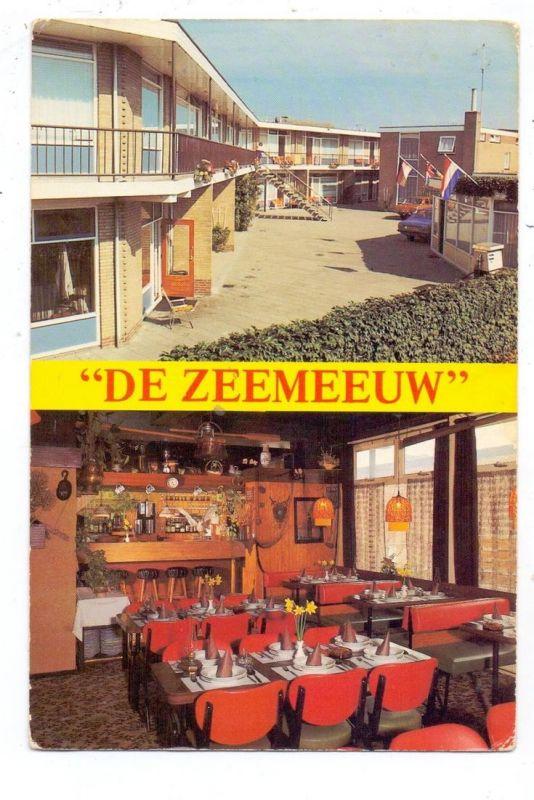 ZUID-HOLLAND - NOORDWIJK, Motel 'T Meeuwenoord, Cafe De Zeemeeuw