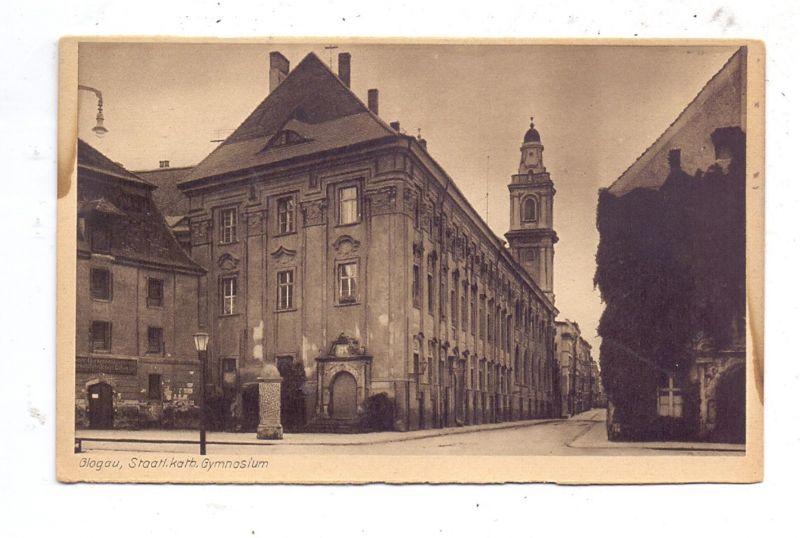 NIEDER - SCHLESIEN - GLOGAU / GLOGOW, Staatl. kath. Gymnasium