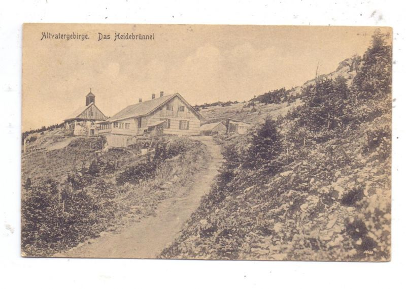 BÖHMEN & MÄHREN - WIESENBERG - WINKELSDORF, Heidebrünnel, 1920