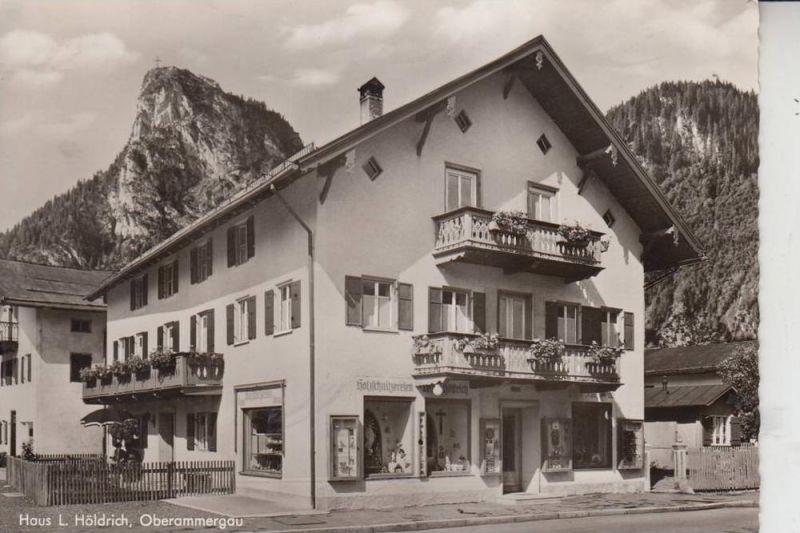 8103 OBERAMMERGAU, Haus Leonhard Höldrich