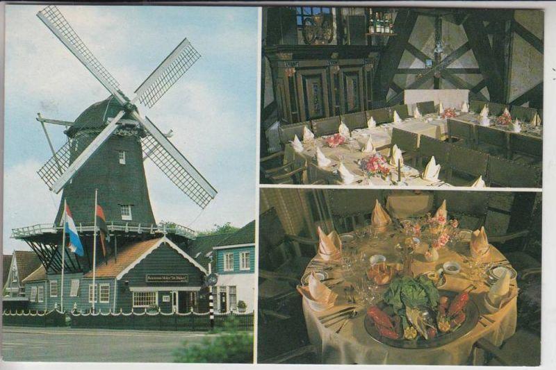 MÜHLE - Molen - mill, Windmühle Amstelveen, Restaurant Molen