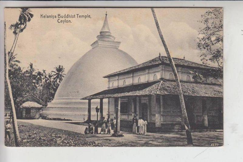 SRI LANKA - CEYLON, Kelaniya Buddhist Temple