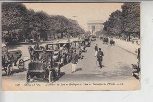 AUTO - TAXI - Paris 1917, Verlag: Louis Levy - Paris # 470