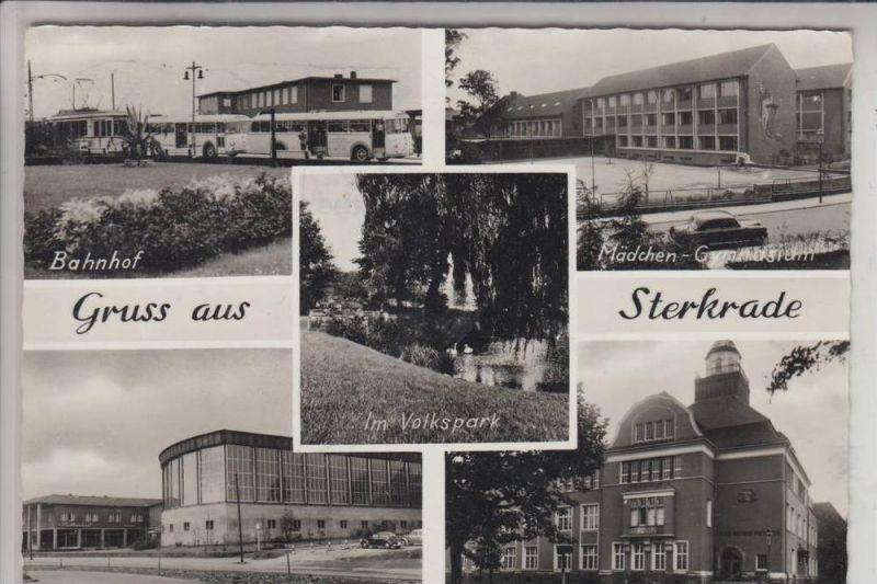 4200 OBERHAUSEN - STERKRADE, Mehrbildkarte, u.a. Bahnhof, Gymnasien, Hallenbad 0