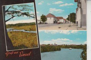 2919 BARSSEL, Mehrbildkarte handcoloriert 60/70-er Jahre