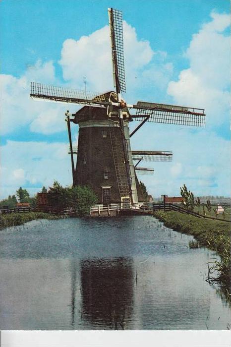 MÜHLE - Molen - mill, Windmühle Molenland / NL
