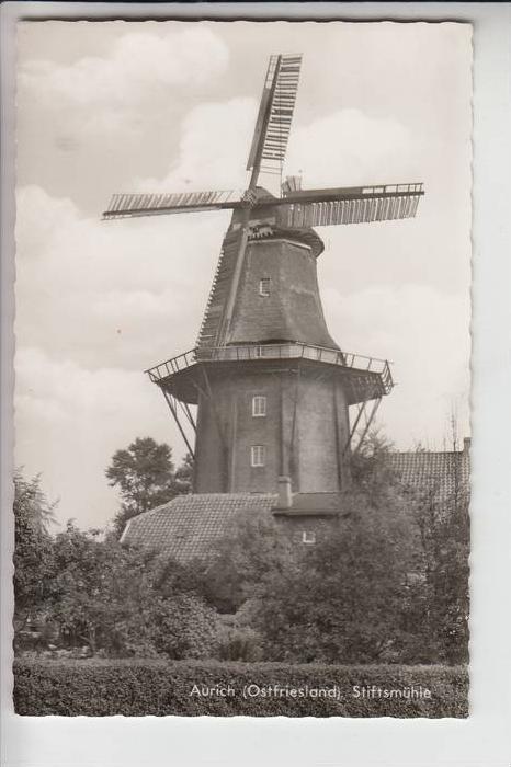 MÜHLE - Molen - mill, Windmühlen Aurich, Stiftsmühle