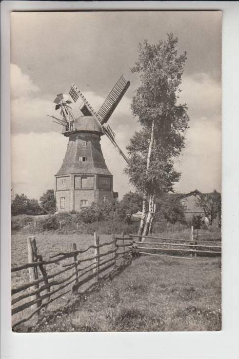 MÜHLE - Molen - mill, Windmühle Ostseebad Graal-Müritz, Alte Mühle in Graal