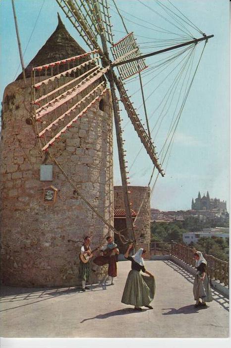 MÜHLE - Molen - mill, Windmühle Palma de Mallorca, Molino del Jonquet