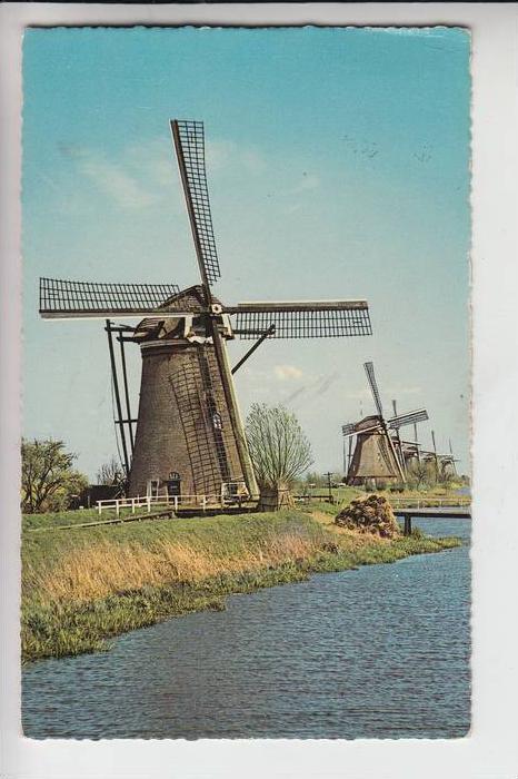 MÜHLE - Molen - mill, Windmühle Hollandse Molen