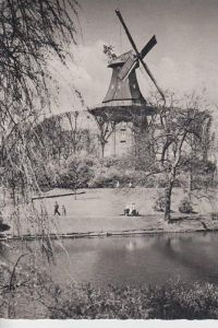 MÜHLE - Molen - mill, Windmühle Bremen Mühle am Wall