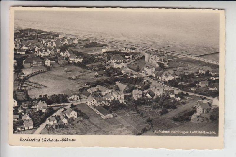 2190 CUXHAVEN - DUHNEN, Luftaufnahme