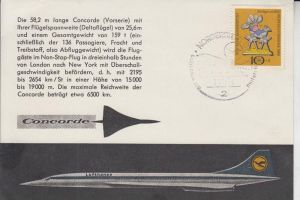 FLUGZEUGE - CONCORDE - LUFTHANSA, later cancelled