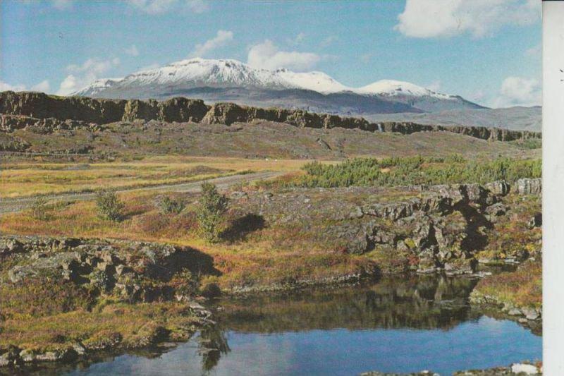 ISLAND - Dingvellir, Almannagja & Sulur