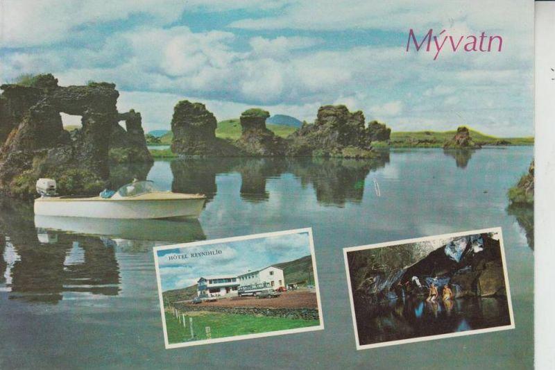 ISLAND - Lake Myvatn