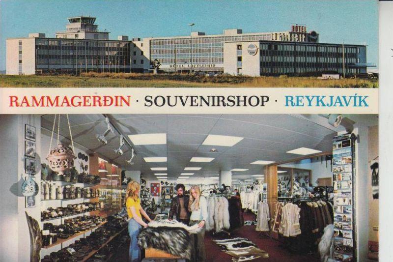 ISLAND - Rammergerdin -Souvernirshop - Reykjavik