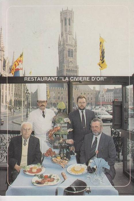 B 8000 BRUGGE, Restaurant