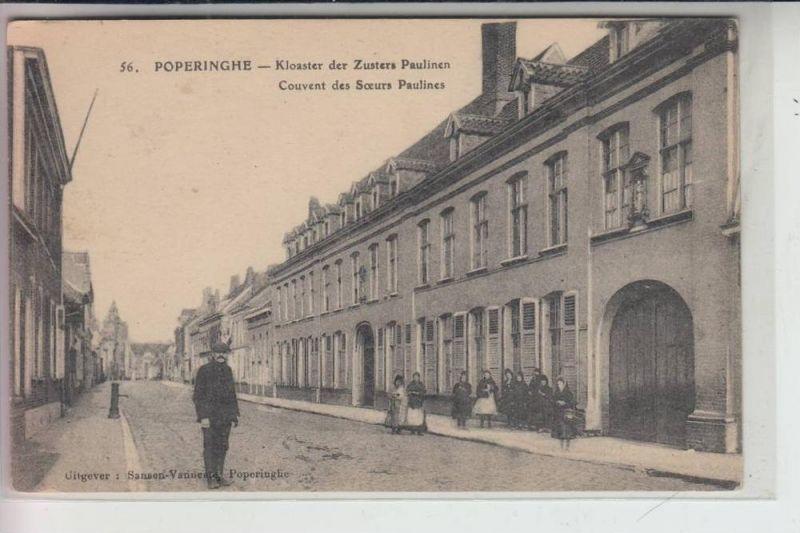 B 8970 POPERINGE, Kloaster der Zusters Paulinen