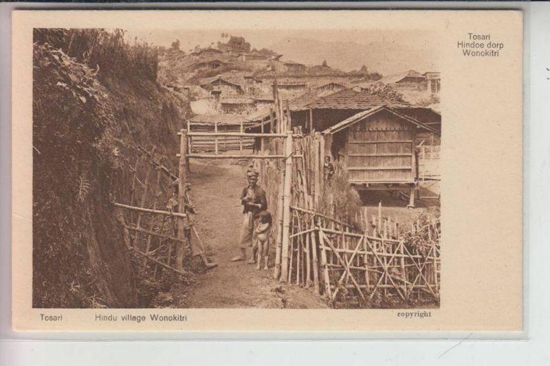 INDONESIEN - TOSARI - Hindoe dorp Wonokitri / Hindu village
