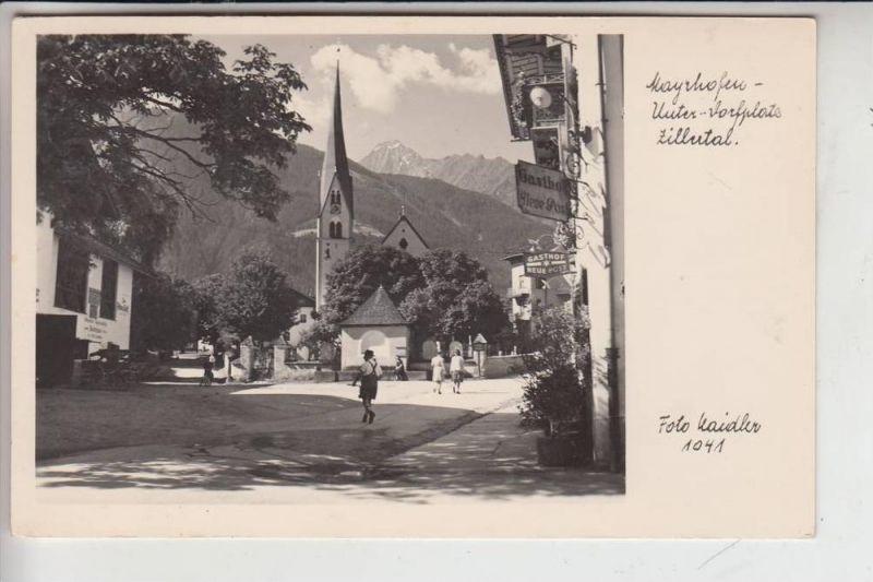 A 6290 MAYRHOFEN, Unter-Dorfplatz