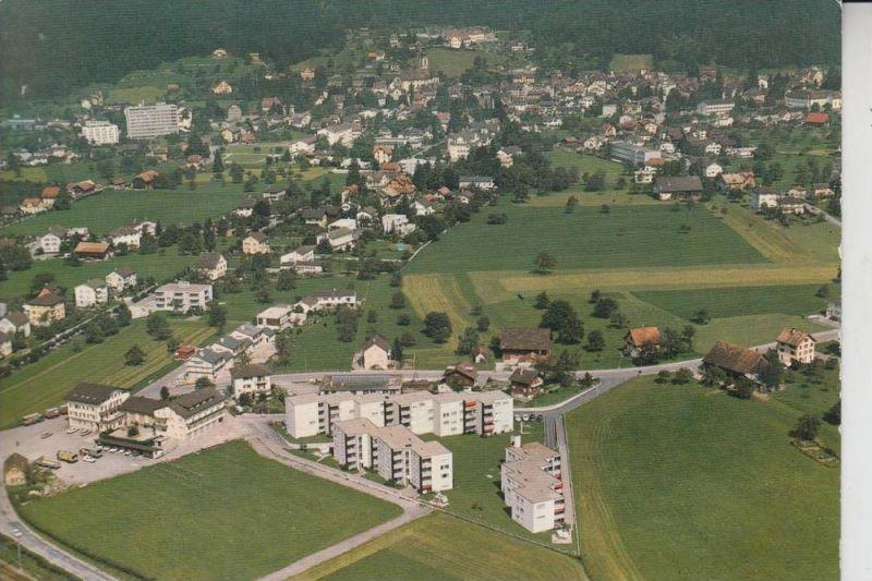CH 6460 ALTDORF, Landgatshaus Bauernhof, Luftaufnahme