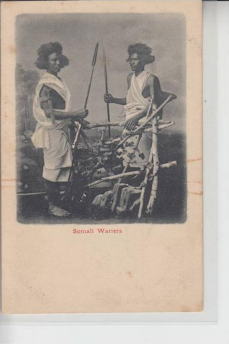 SOMALIA - Somali Warriors - Ethnic Völkerkunde