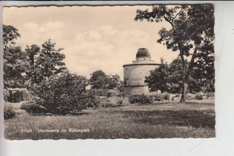 ASTRONOMIE - Erfurt - Sternwarte im Kulturpark 1961