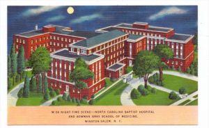 USA - NORTH CAROLINA - WINSTON-SALEM, Baptist Hospital