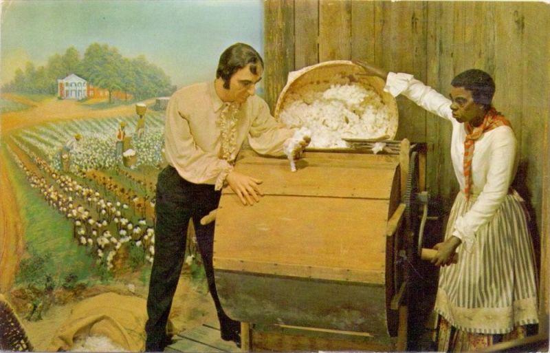 LANDWIRTSCHAFT - Baumwollpflücken / Cotton Picking, Eli Whitney