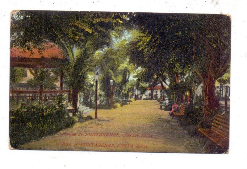 COSTA RICA - PUNTARENAS, Park, Druckstelle / AF