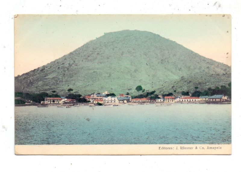 HONDURAS - AMAPALA, ca. 1910, color