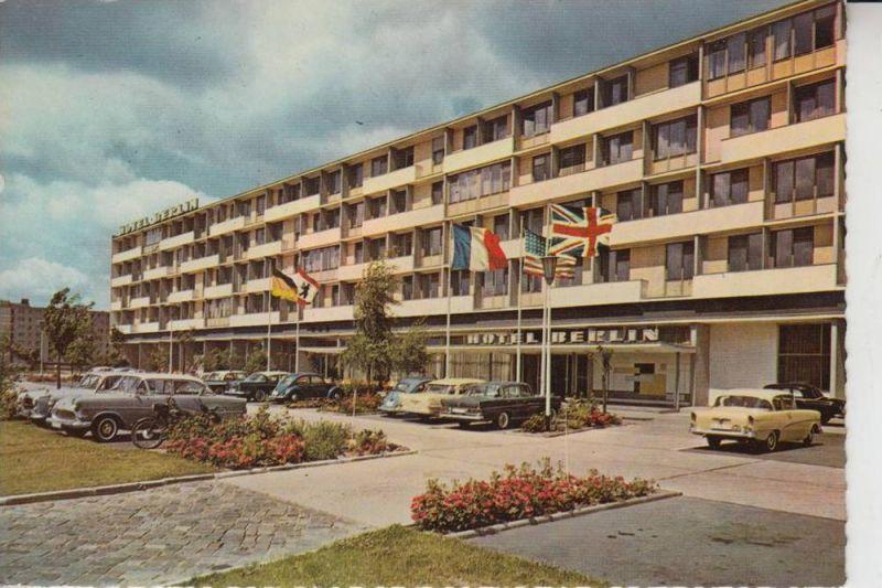 1000 BERLIN - TIERGARTEN, Hotel Berlin, Kurfürstenstrasse 1961, Opel Rekord & Kapitän