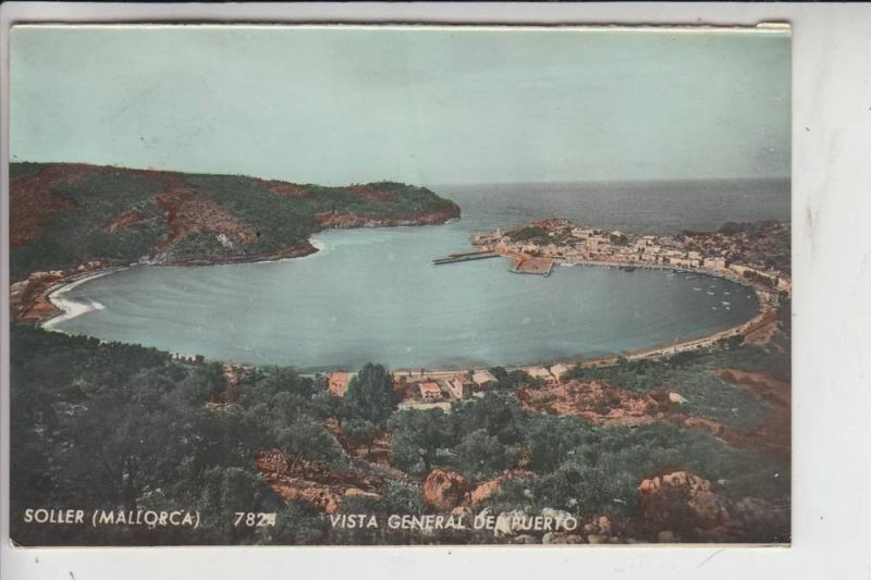E 07100 SOLLER / Mallorca, Vista General de Puerto