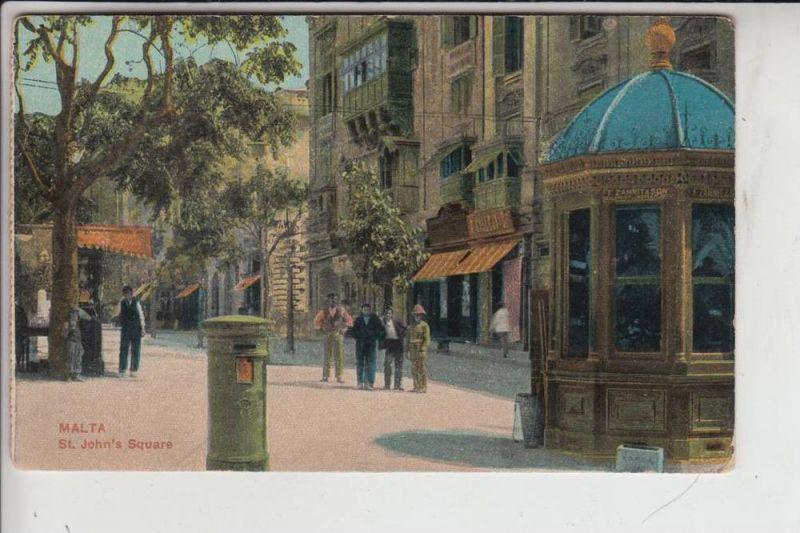 MALTA - St. John's Square