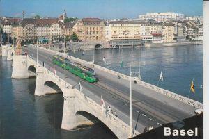 STRASSENBAHN - TRAM - Basel / Mittlere Brücke