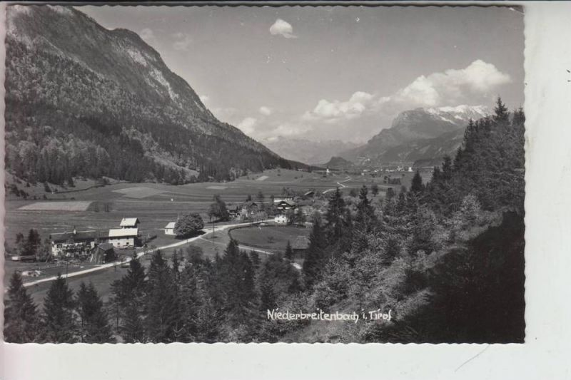 A 6336 LANGKAMPFEN - NIEDERBREITENBACH, Ortsansicht 1962